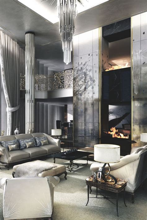interior design ideas for a glamorous living room