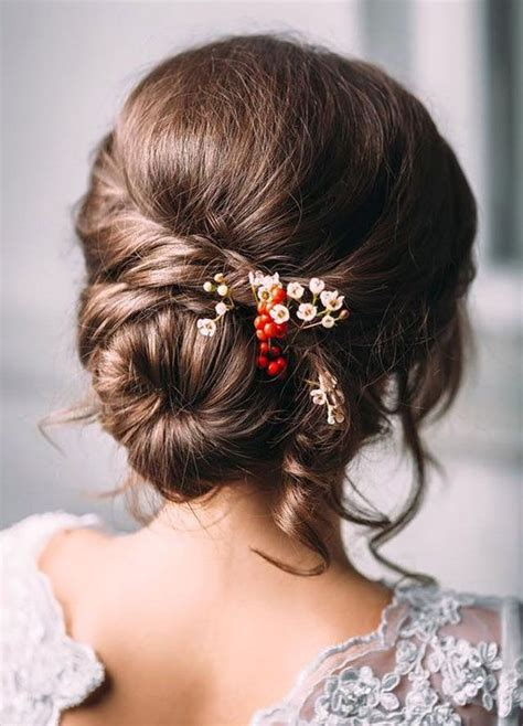Wedding Hairstyles For Brown Hair wedding hairstyles for medium brown hair nail styling