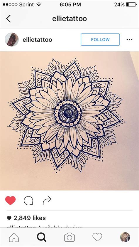 sunflower mandala tattoo meaning best 25 sunflower tattoo meaning ideas on pinterest