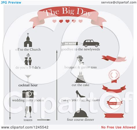 event design elements clipart of wedding event design elements royalty free
