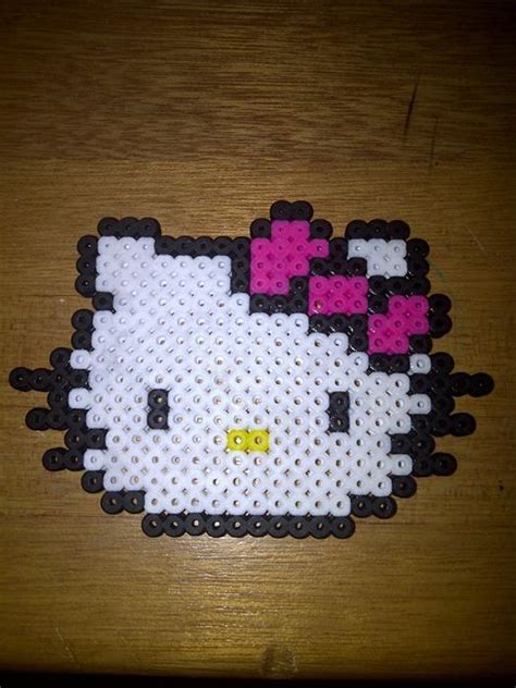 perler bead hello perler hello somebody make me this