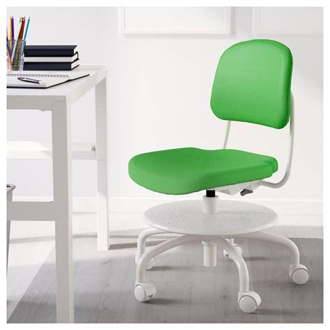 chaise bureau enfant ikea vimund chaise de bureau enfant vert vif ikea