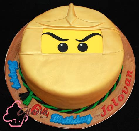 Cake Decoration At Home by Golden Ninjago Cake Gloria Cake