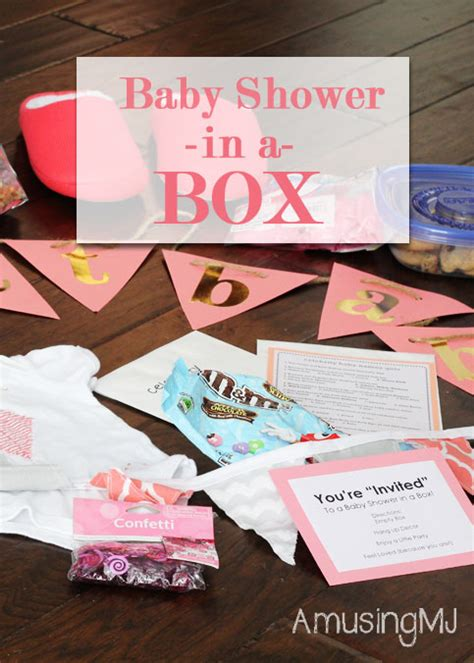 Baby Shower In A Box by Baby Shower In A Box