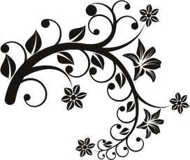 floral wall sticker clipart best