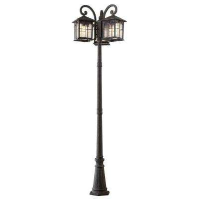 3 Light Outdoor Post L by Post Lighting Outdoor Lighting The Home Depot