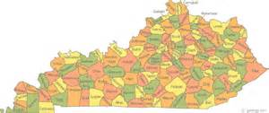 Ky State Map by Map Of Kentucky