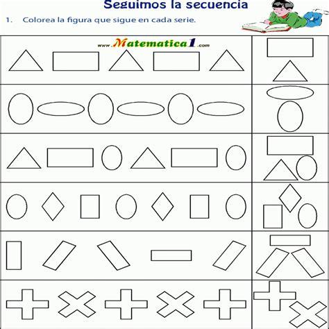 figuras geometricas niños actividades de patrones para ni 195 os buscar con google