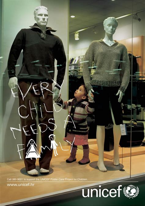 unicef award winning advertisements daily cool photos unicef every child needs a family creative criminals