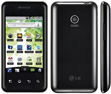 Hp Lg P500 lg optimus chic e720 pictures official photos