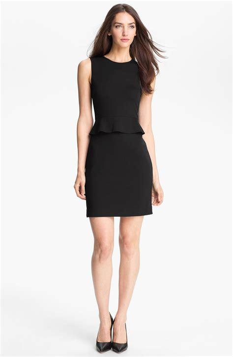knit sheath dress theory dellera stretch knit sheath dress in black end of