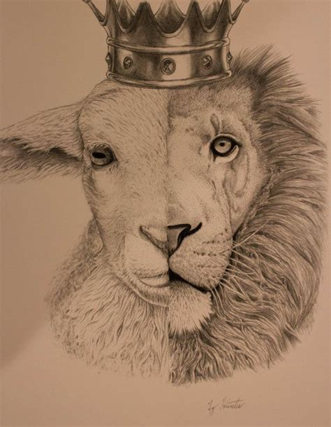 jesus lamb tattoo the lion and the lamb tattoo 1000 ideas about lion and
