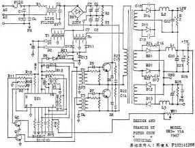 the pc power supply circuit electronic projects circuits