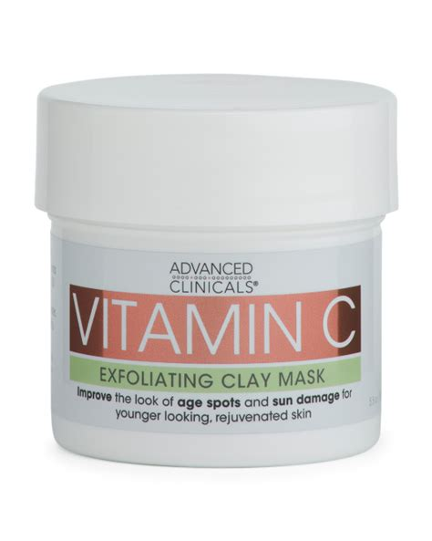 vitamin c clay and 0714874604 vitamin c face mask gifts for women t j maxx