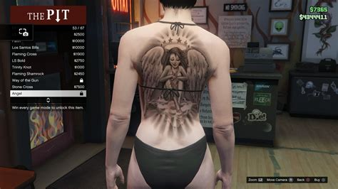 gta online tattoo angel image tattoo gtav online female torso angel jpg gta
