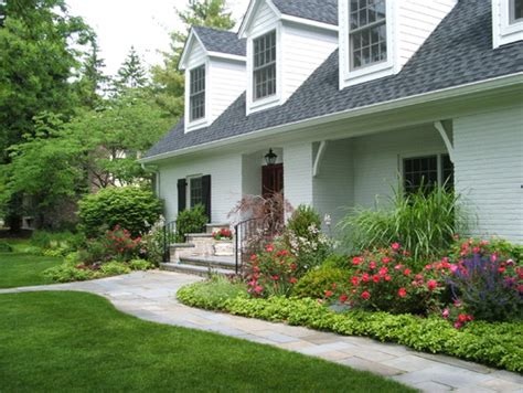 Landscape Pictures Front House Landscape Arrangements For Your House S Front Gardening