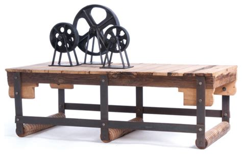 coffee table accents wood iron coffee table with natural with rust accents