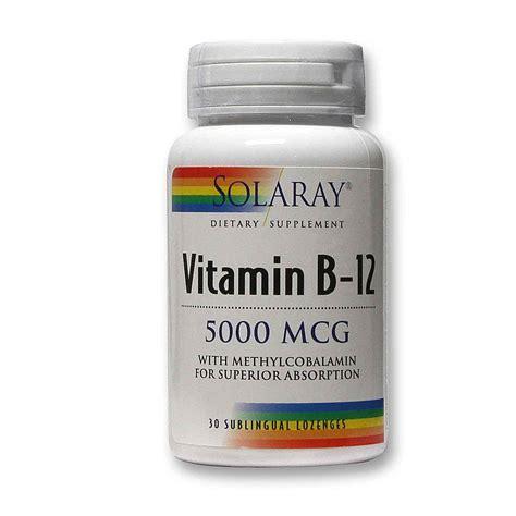 vitamin b12 for dogs solaray vitamin b 12 cherry 5 000 mcg 30 sublingual lozenges evitamins