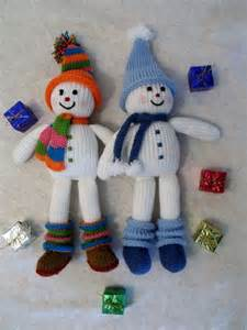 beautifully knitted christmas ornaments godfather style