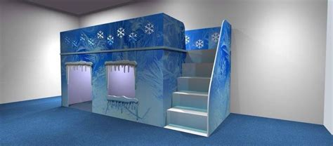 frozen themed bed for children by dreamcraft furniture