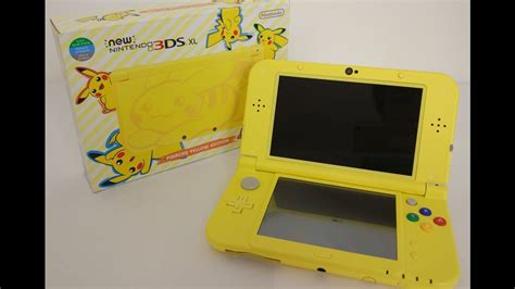 3ds Xl Giveaway - pikachu yellow edition new 3ds xl unboxing volcanion giveaway youtube