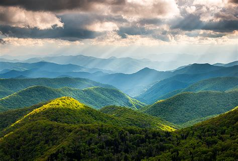Landscape Photography Mountains Great Smoky Mountains Landscape Photography Blue Ridge
