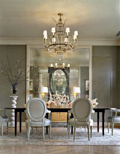 Mirror In Dining Room Interior Design by House Post Antique Mirrors