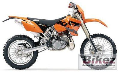 2004 Ktm 200 Exc Review 2004 Ktm 200 Exc Specifications And Pictures