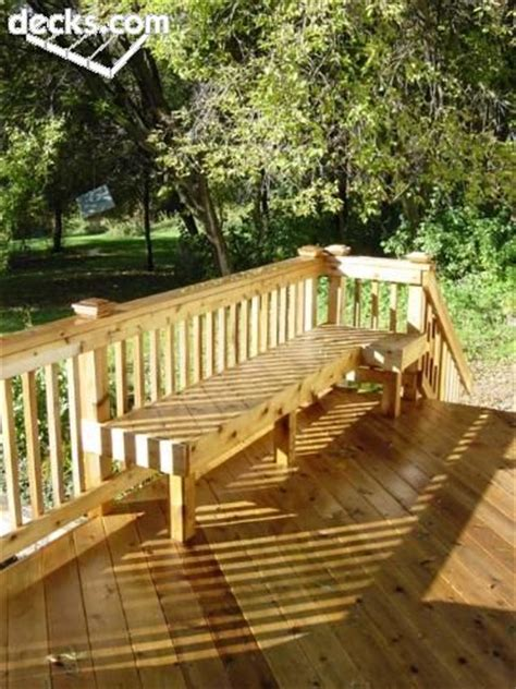 bench railing for deck 17 best images about deck on pinterest curved bench