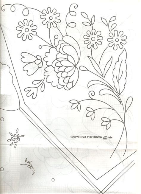 dibujos para bordar free coloring pages of flores para bordar