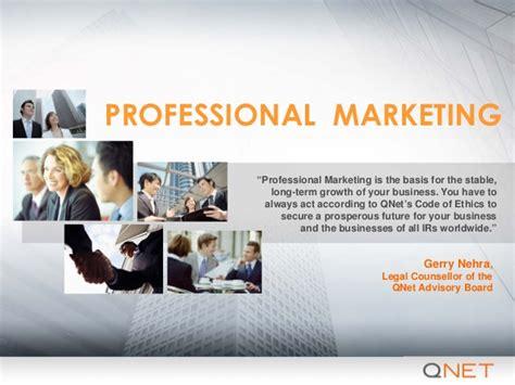 qnet professional marketing presentation en