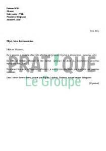 lettre type de d 233 nonciation pratique fr
