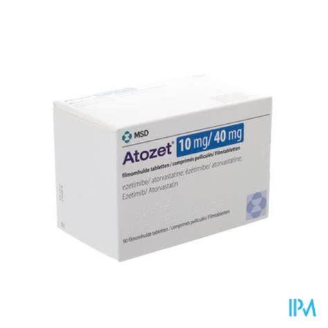 Tebokan 40 Mgtablet atozet 10 mg 40 mg 30 tablets