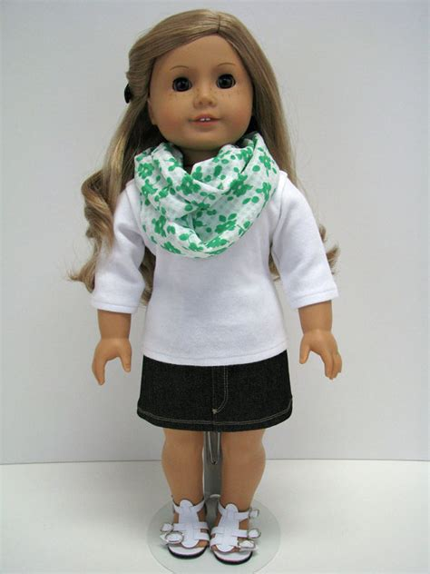 Wardrobe For Dolls Clothes 18 Inch by Doll Clothes 18 Inch Doll Clothes 18 Inch Doll Scarf