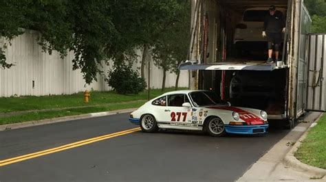 magnus walker garage magnus walker crashes vintage porsche with reporter inside