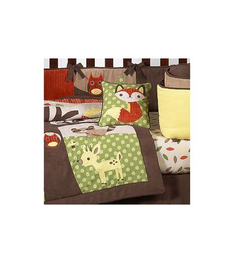 sweet jojo designs forest friends 9 crib bedding set