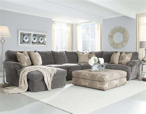 chelsea home furniture bradley sectional sofa set new