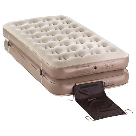 coleman 4 n 1 quickbed air mattress 2 or 1 king cing bed ebay