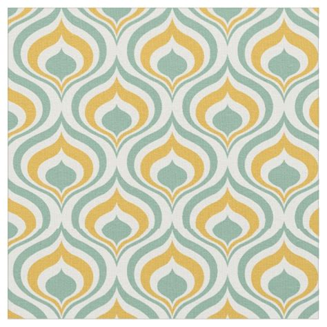 70s fabric 70 s wallpaper pattern fabric zazzle