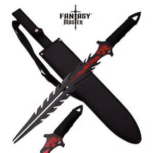 double fang dragons breath fantasy short sword swords of