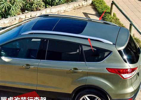 Roof Rack 2013 Ford Escape by High Quaity Aluminium Roof Rack Side Rails Bars For Ford