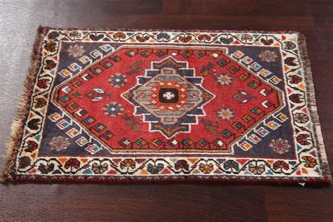 clearance geometric foyer size 4x5 shiraz persian oriental antique geometric foyer size handmade 2x3 shiraz persian