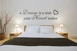 wall decal bedroom quote sticker a dream is a wish your best wall sticker quotes for bedrooms small room