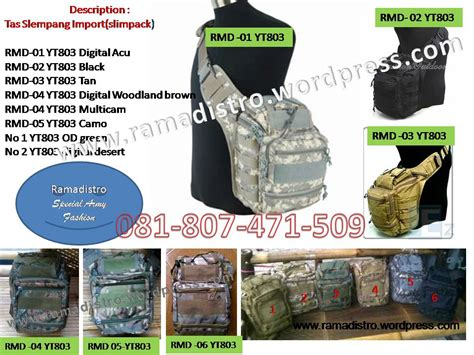 Tas Selempang 803 Black Import tas selempang army import jual aneka barang perlengkapan militer tni polri satpam air soft gun
