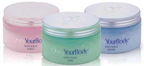 obey  body premier exfoliate body scrub dead sea salt