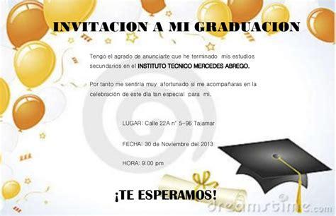 modelos de tarjetas de invitacion de promocion inicial invitacion de graduacion