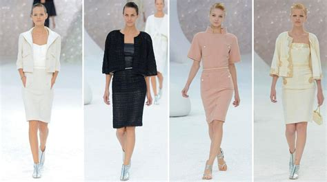 Modern Color Palette by Chanel Spring 2012 Collection L Paris Fashion Week