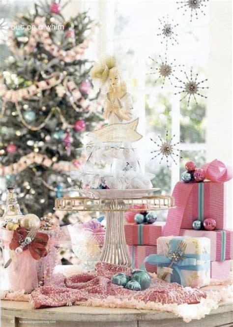 glamorous pastel christmas decor ideas digsdigs