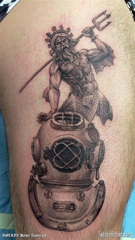 scuba diver tattoo designs 2 special physical features diver new character