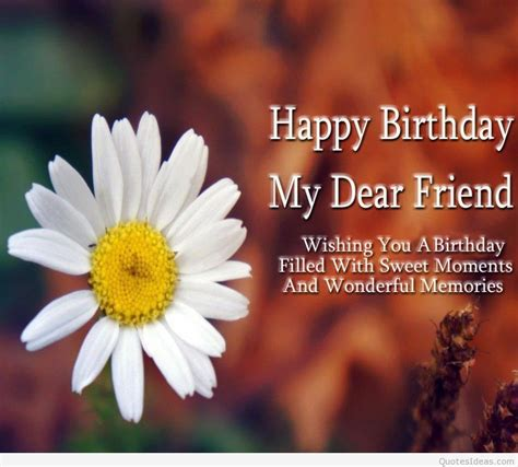 Happy Birthday Dear Friend Quotes Brother Birthday